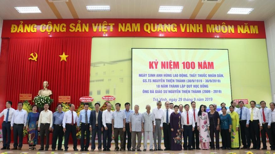 Công ty Địa ốc Hoàng Quân đóng góp gây Quỹ học bổng Ông bà Giáo Sư Nguyễn Thiện Thành